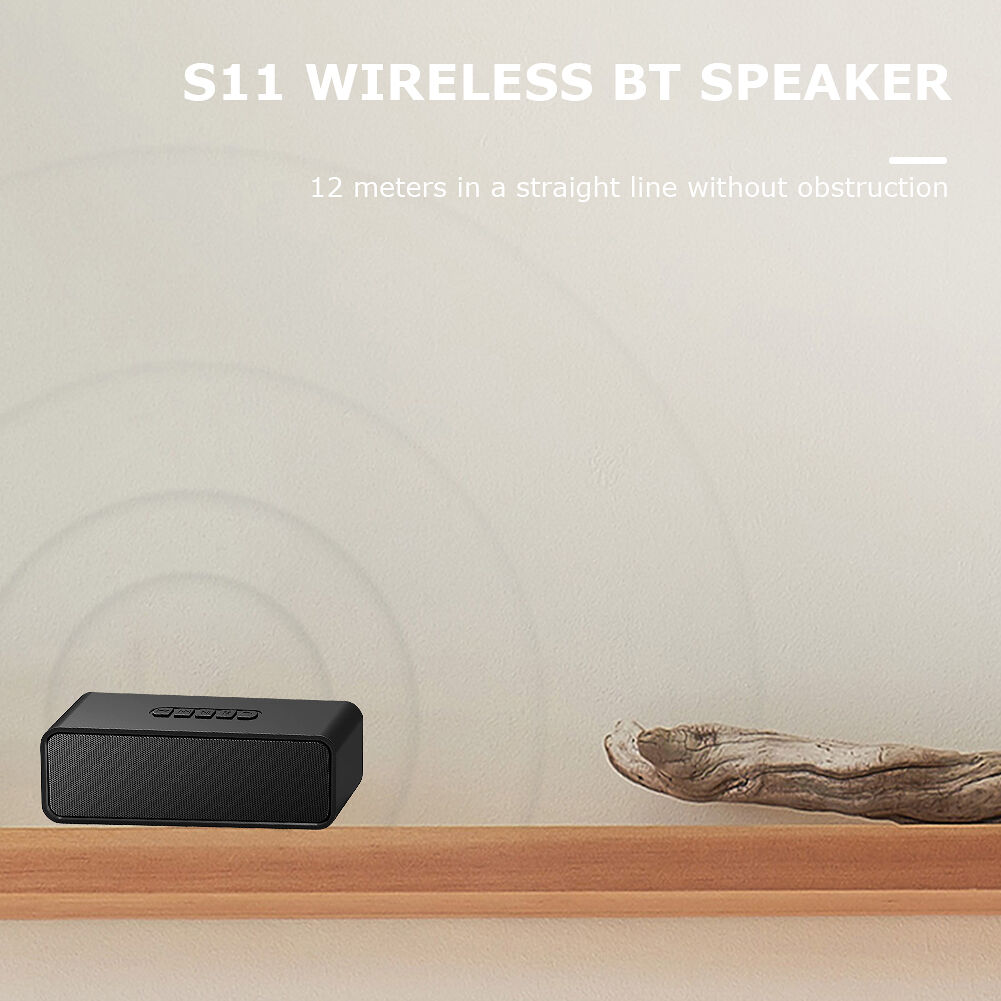 S11 Bluetooth Speaker Mini Portable Wireless TWS Loudspeaker TF Card FM AUX