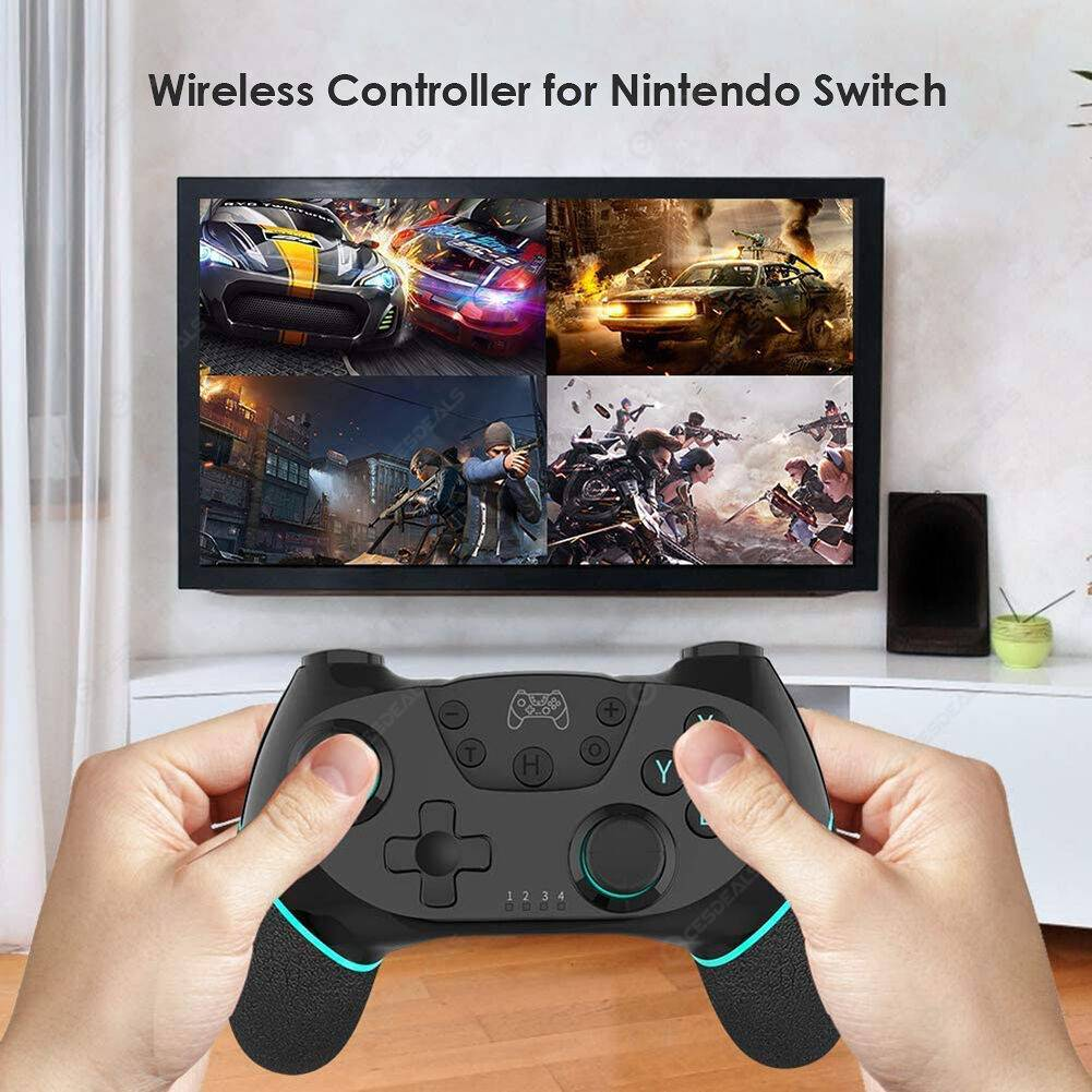 RegeMoudal Bluetooth Controller for Nintend Switch Turbo Dual Shock Gamepad