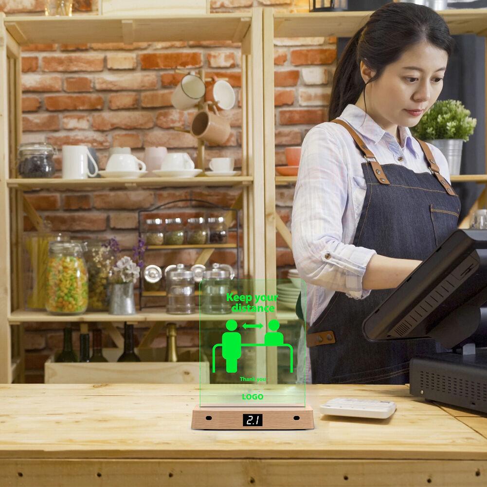 Smart Distance Awareness DeviceAdjustableSafety Distance AlarmReminder