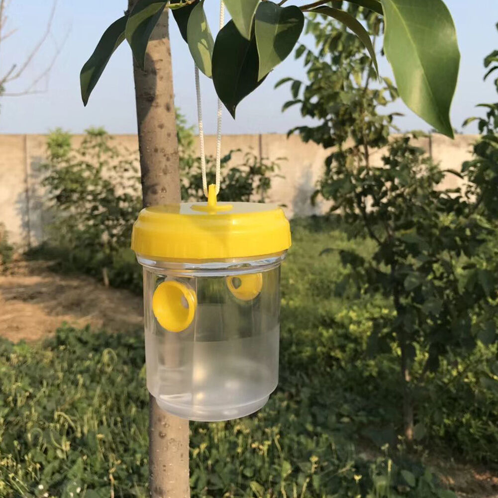 Fly Wasp Trap Fruit Flies Insect Bug Hanging Tree Bee Honey Catcher Killer