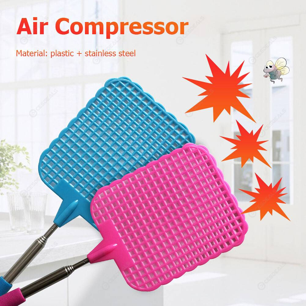 7pcs Telescopic Extendable Fly Swatter Prevent Pest Anti Mosquito Killer