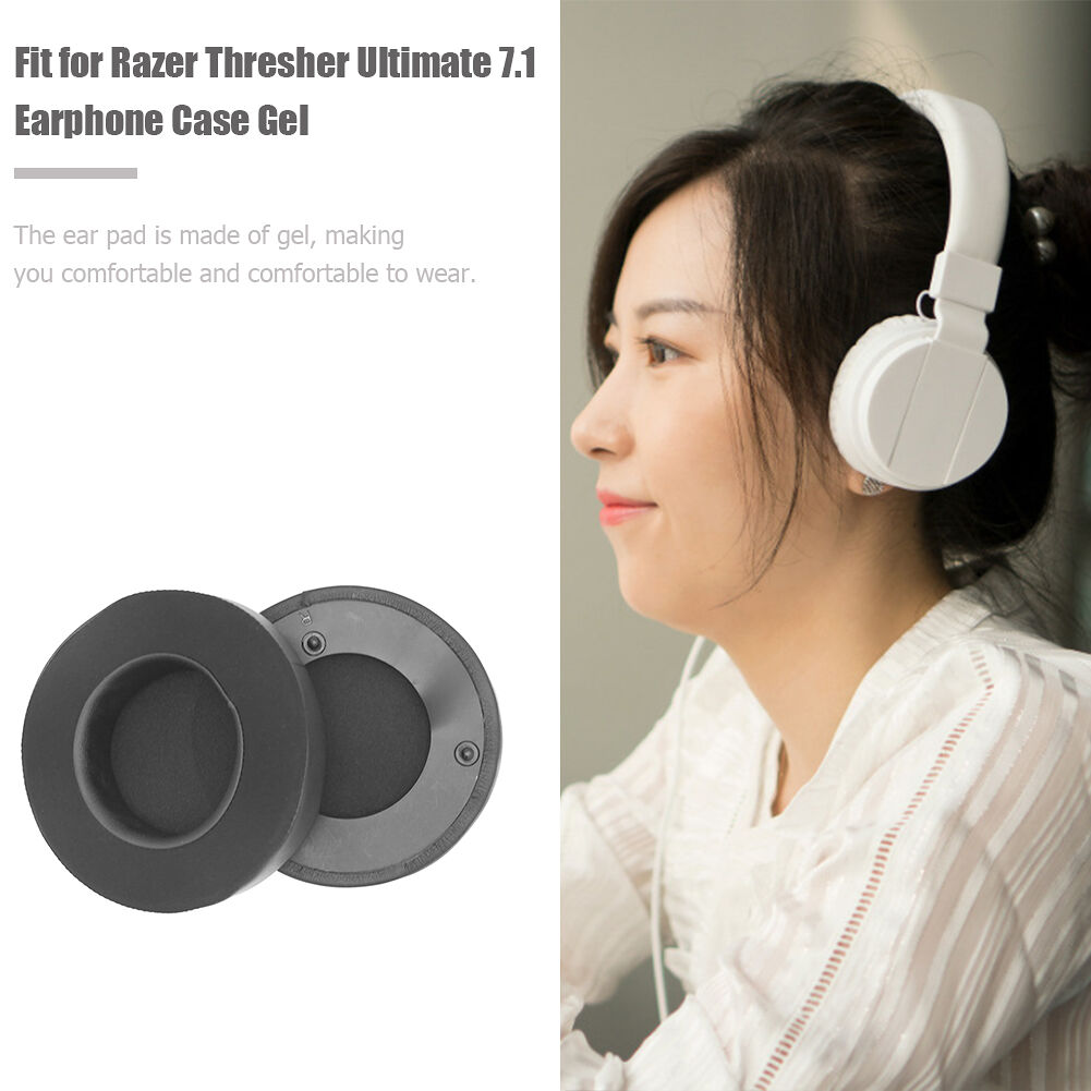 1 Pair Gel Headphone Replacement Ear Pads for Razer Thresher Ultimate 7.1