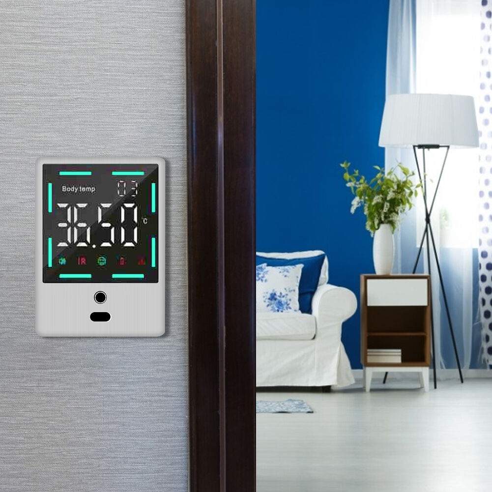 Non-Contact Digital Automatic Thermometer for Infrared Detection (White)