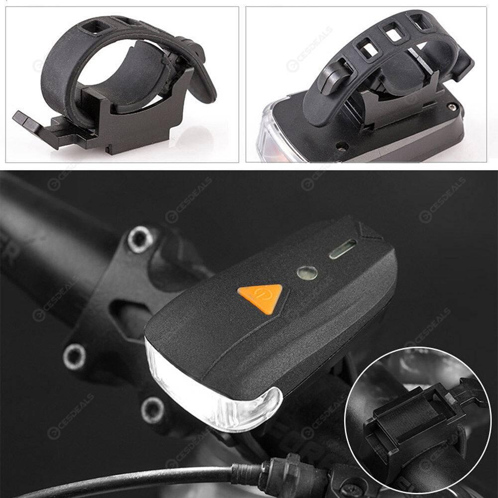 2pcs Waterproof XPG LED Smart MTB Bike Flashlight Bicycle Warning Lights