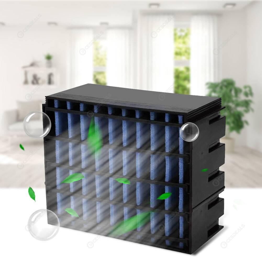 10pcs/set Air Cooler Replacement Filter Element Portable Humidifier Parts