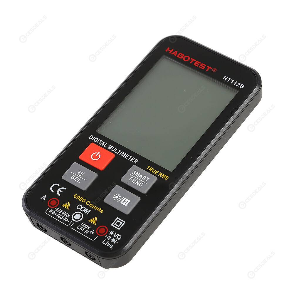 HABOTEST HT112B 6000 Counts NCV True RMS Intelligent Digital Multimeter