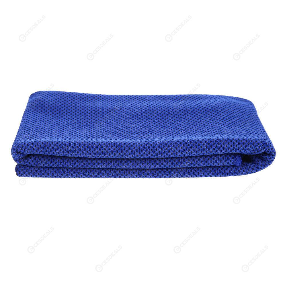4pcs Outdoor Fitness Sport Ice Chill Towel Quick-Dry Running Cooling Towels