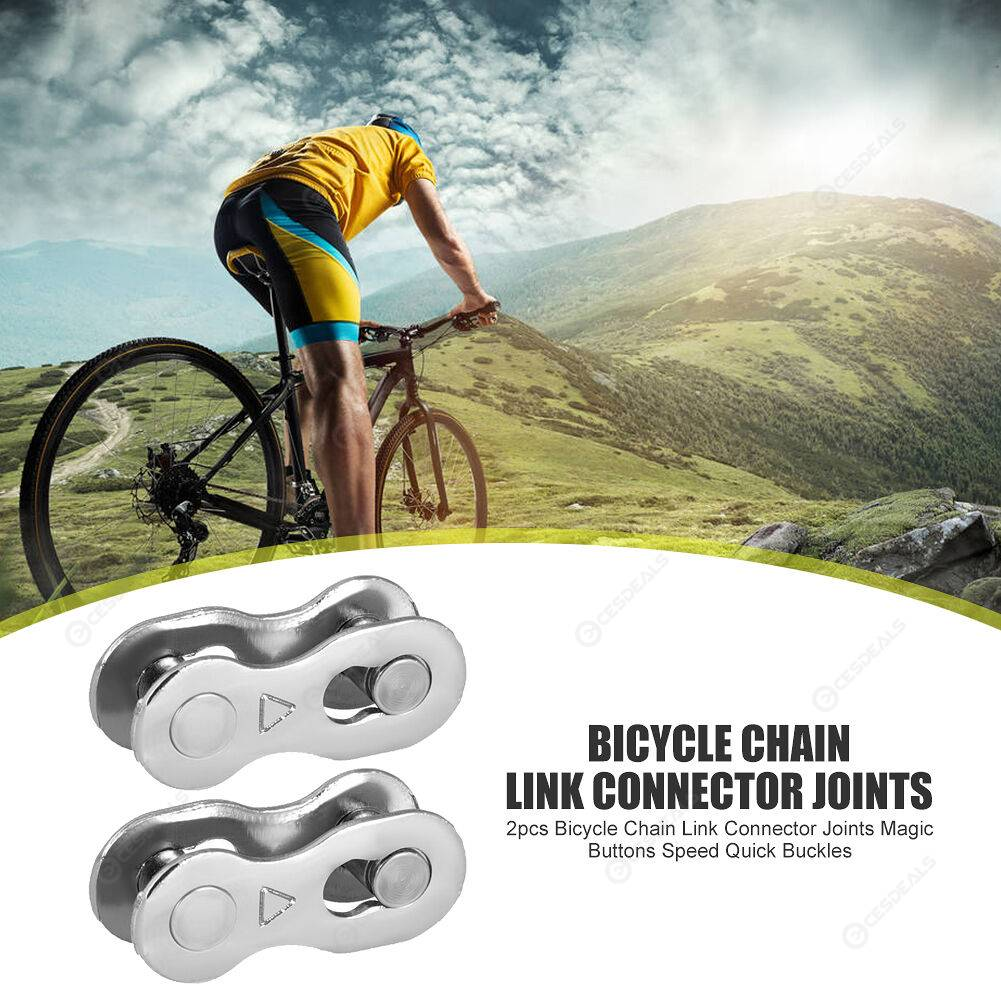 10pairs Stainless Steel Mountain Road Bike Chain Connector for 6/7/8 Speed