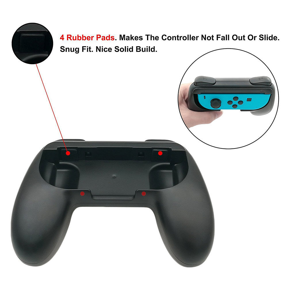 Left+Right Joycon Bracket Handle for Nintend Switch NS PRO Hand Grip Holder