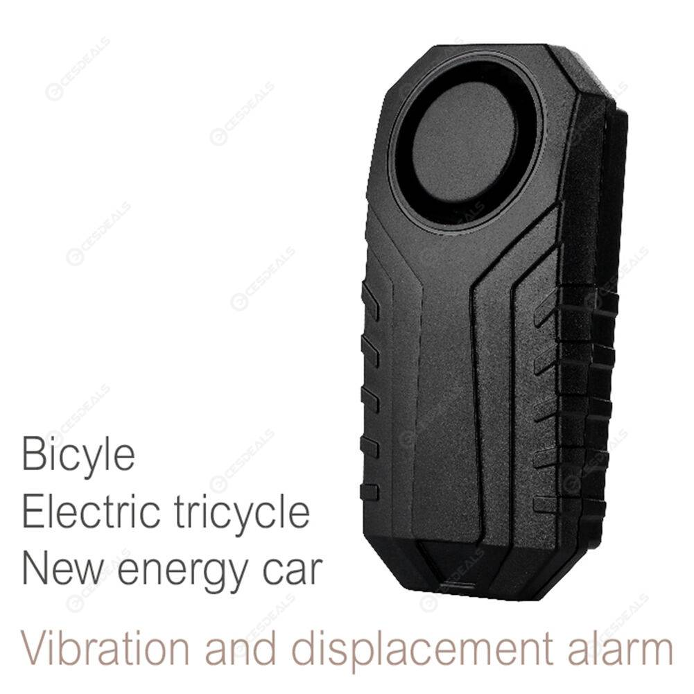 Anti-Theft Security Bike Wireless Remote Control Vibration Sensor Alarm