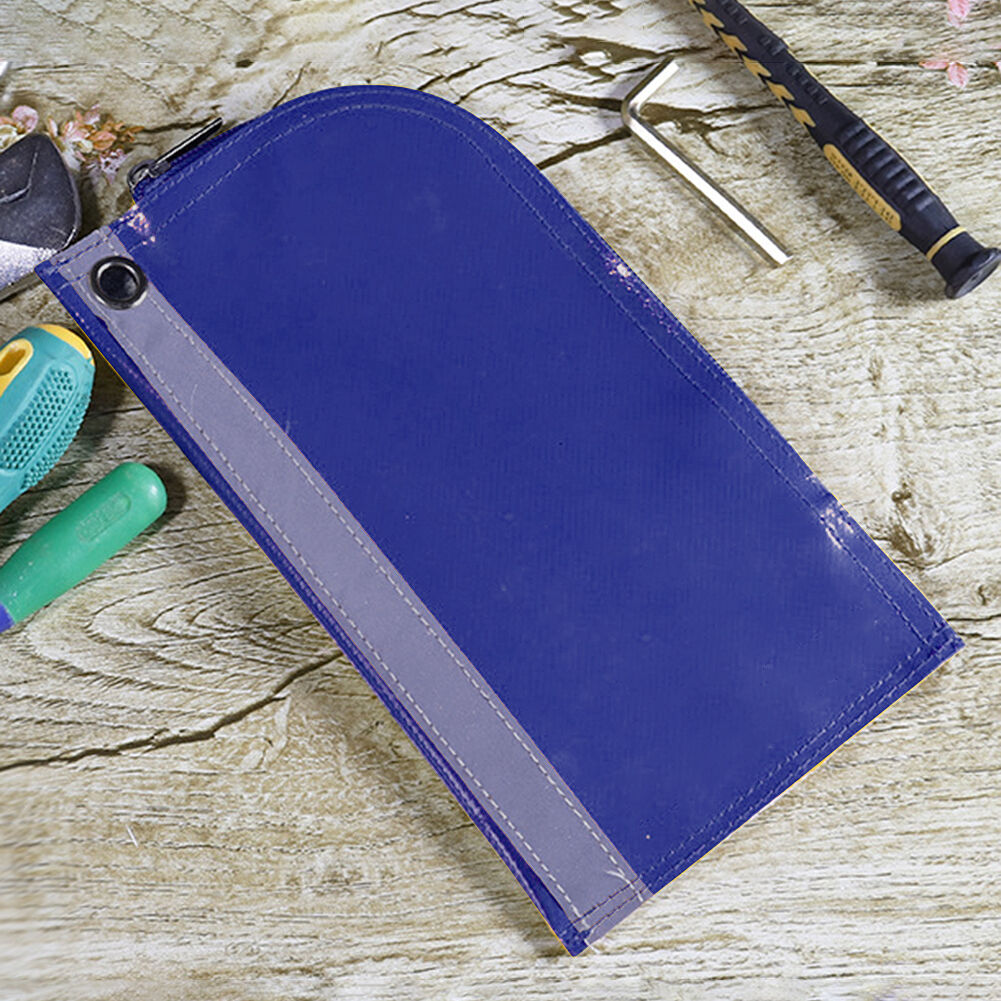 Waterproof Tool Storage Bags Reflective Hardware Organizer Toolkit (Blue)