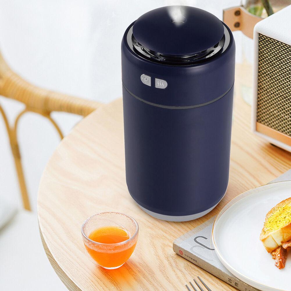 Starry Sky Mini Humidifier USB Mute Home Essential Oil Diffuser (Dark Blue)