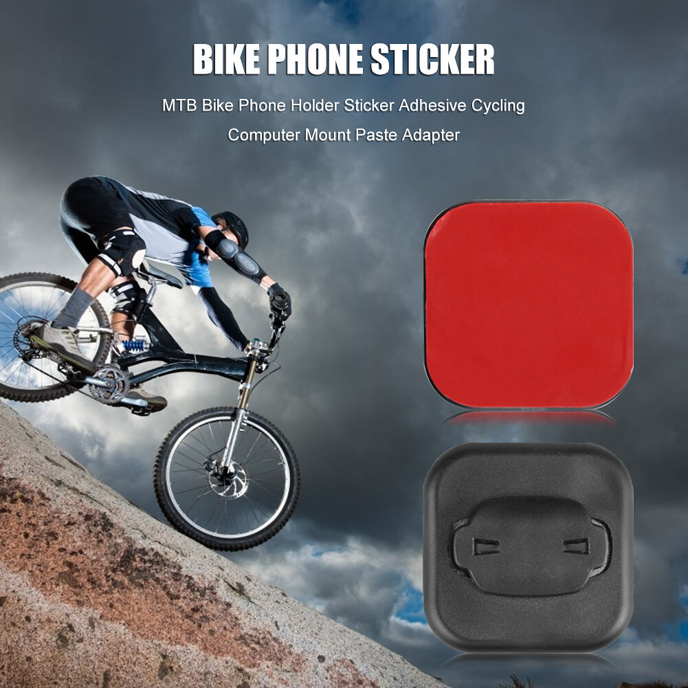 Bike Phone Holder Sticker Cycling Computer Mount Paste Adapter (for Bryton)