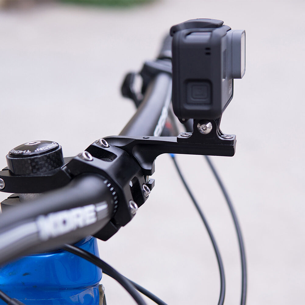Bicycle Handlebar Bracket Holder Bike Mount Stand for GoPro Camera (Long)