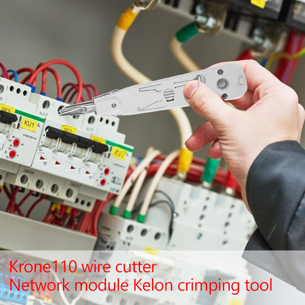 KRONE 110 Telephone Network Wire Stripper Cable Electrician Crimping Pliers