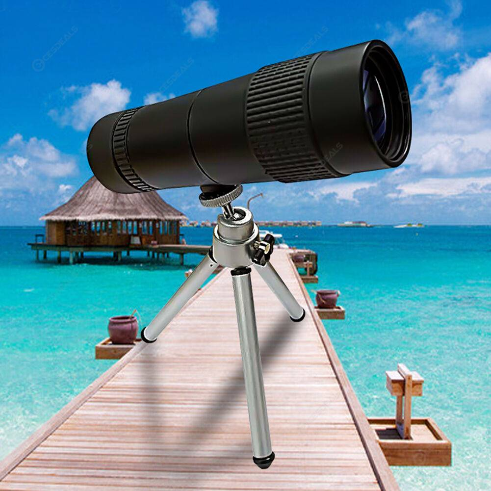 Zoom 10-30X40 HD Powerful Sightseeing Monocular Telescope for Smartphone