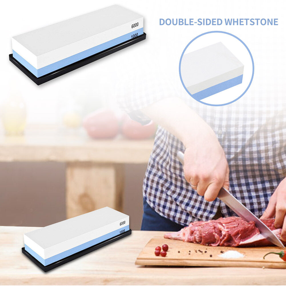 1000/6000 Mesh Double-Sided Kitchen Sharpening Grinding Toestone Blade Set