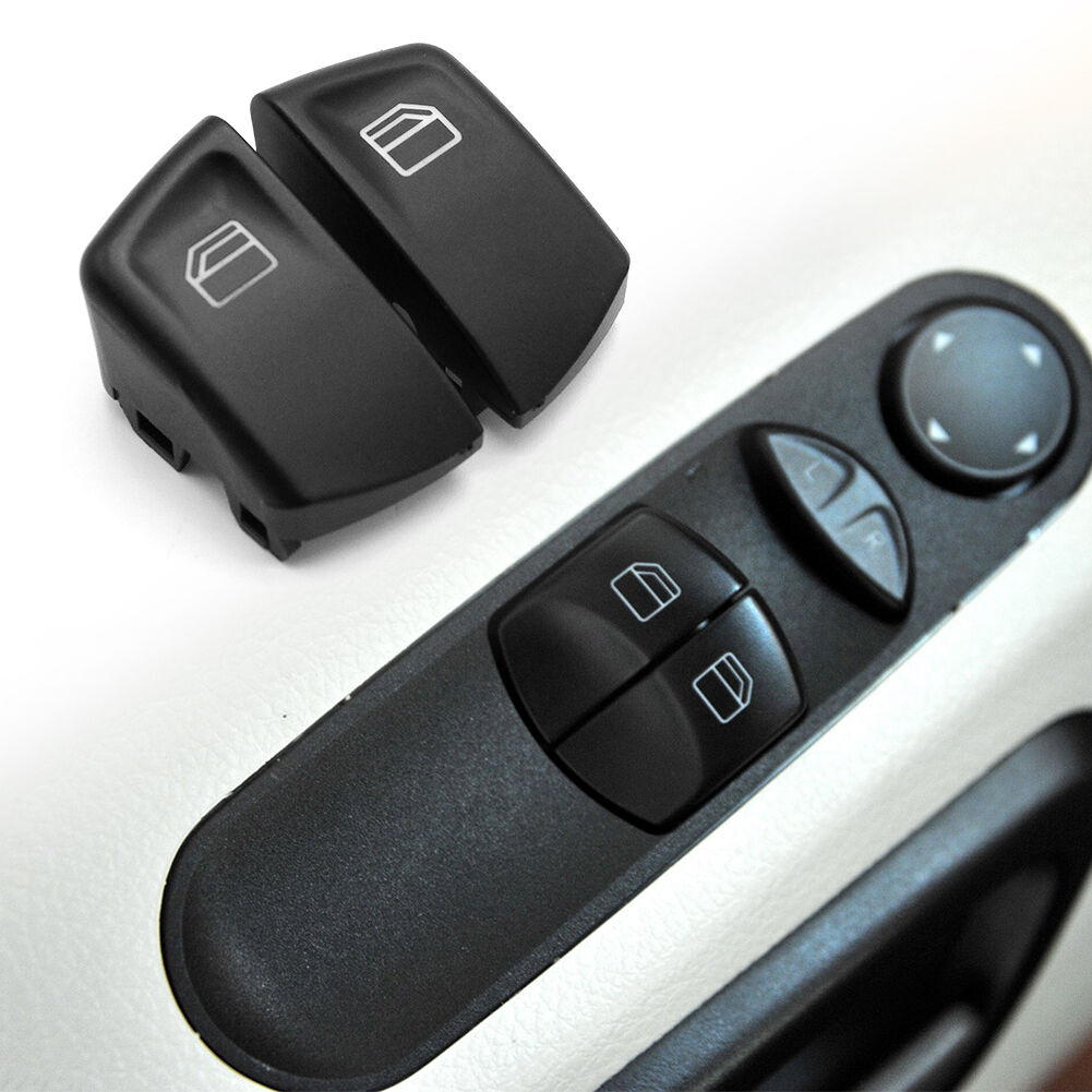 Power Window Switch Button Covers Right+Left for Mercedes Benz Vito W639