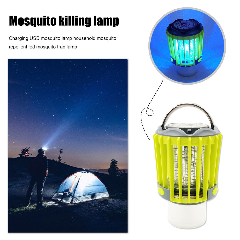 3 in 1 Mosquito Killer Lamp Home Outdoor Waterproof LED Insect Trap Light