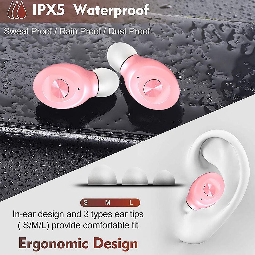 XG8 TWS Sports Bluetooth Earphones Touch Waterproof Wireless Mini Earbuds