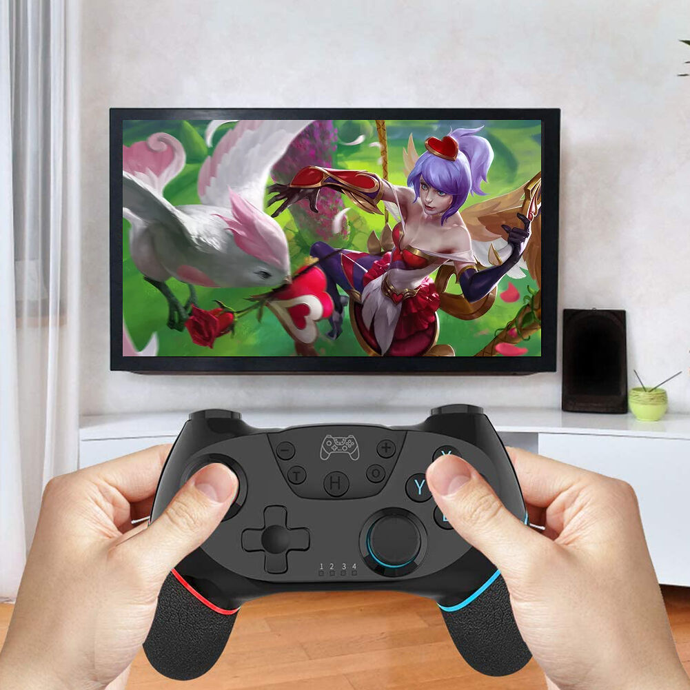 Bluetooth Controller Dual Motor Vibration Joystick for Switch/Switch Pro
