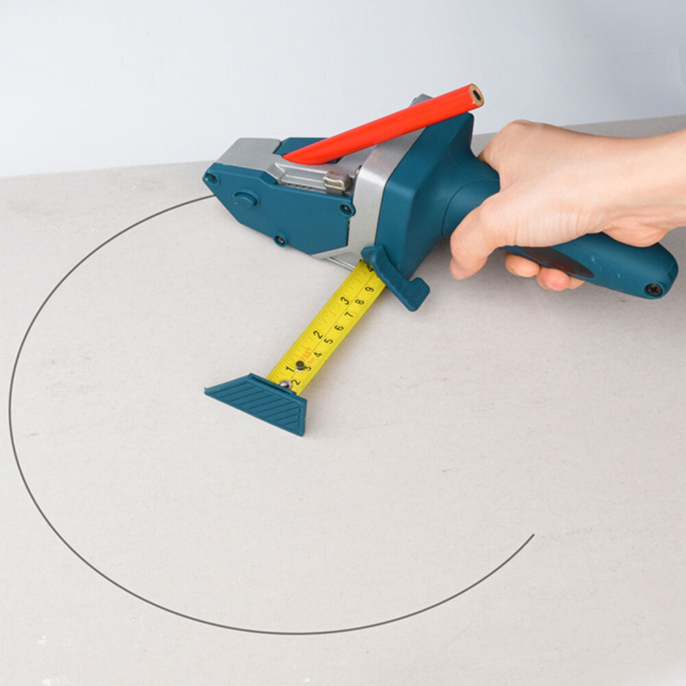 Woodworking Handheld Gypsum Board Cutting Tool Drywall Cutter+Tape Measure