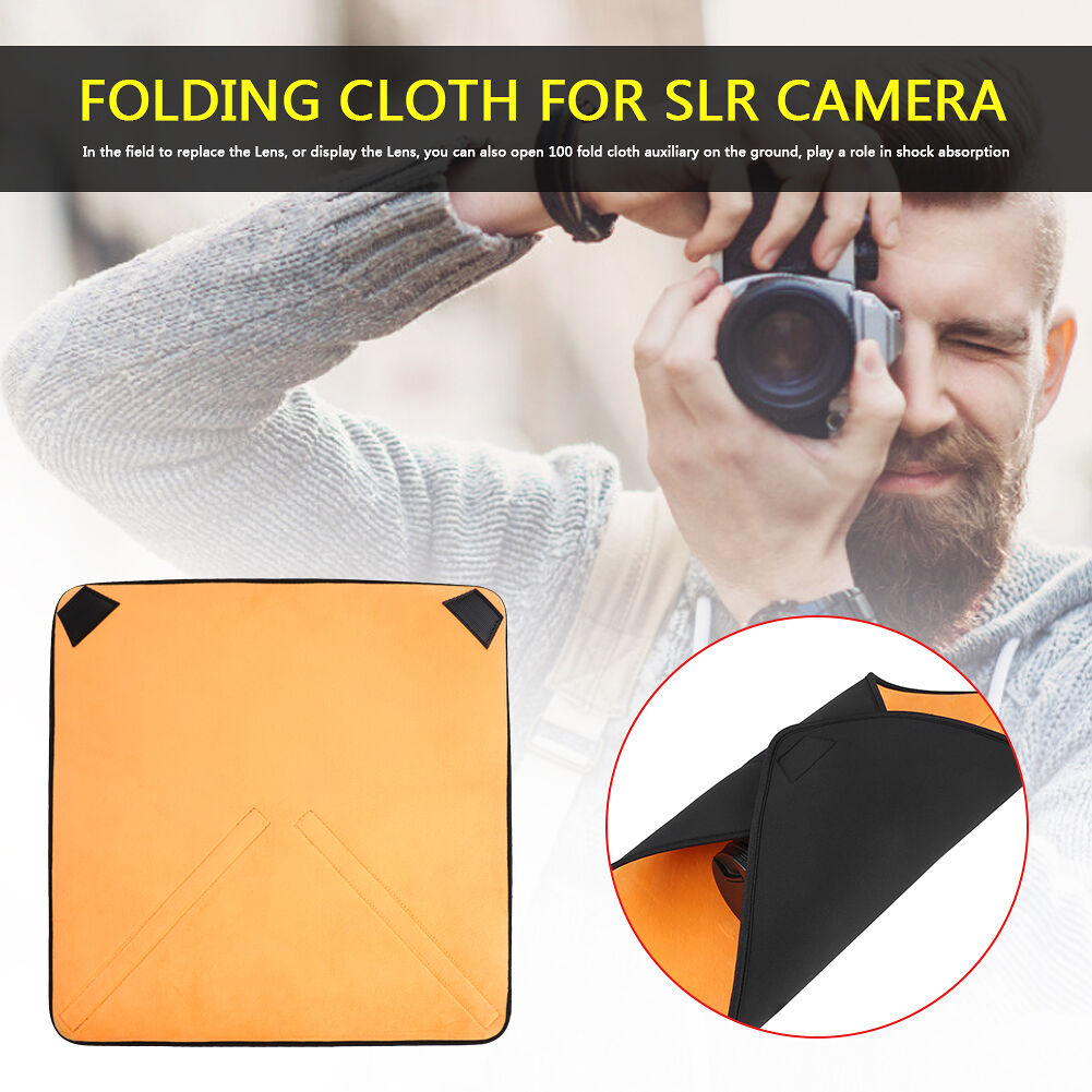 Camera Protective Cloth Shockproof Folding Wrap Cloth Cover for SLR (35x35)
