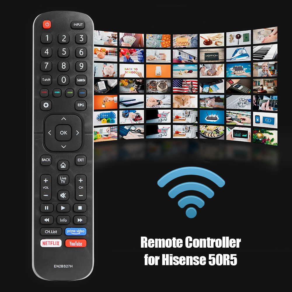 LED Smart TV Remote Control Wireless Switch for Hisense 50R5 55R5 58R5 65R5