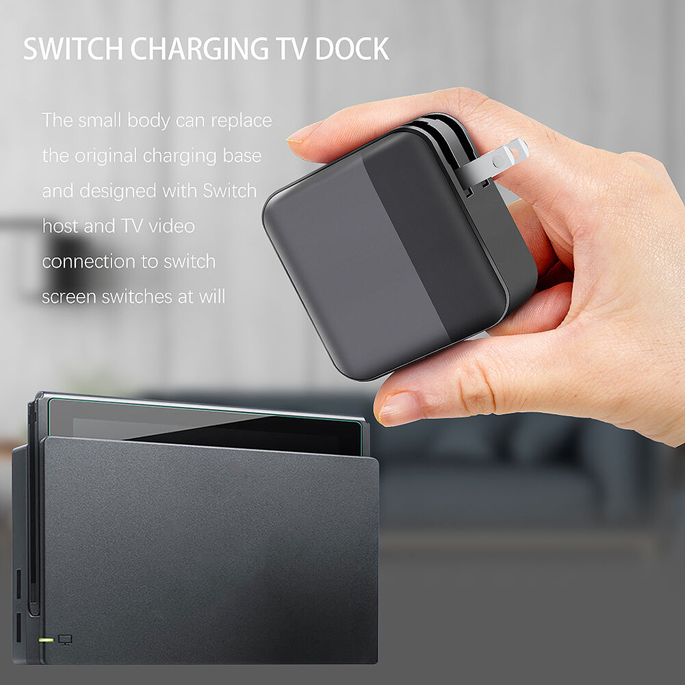 For Nintend Switch Game Console HDMI Wall Charging Base Power Dock Station