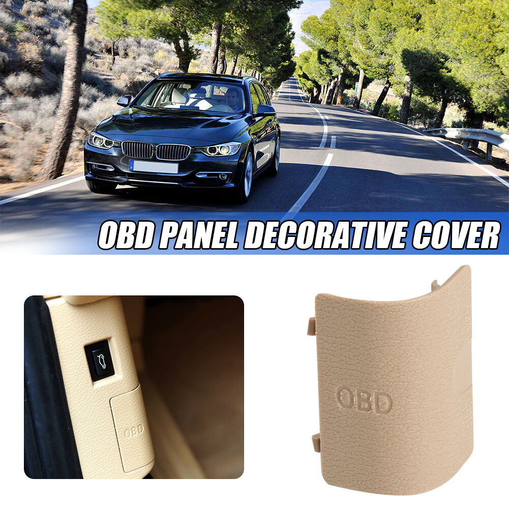 OBD Plug Cover for BMW F25 X3 2011-2016 F26 X4 13-18 51437243111 (Beige)