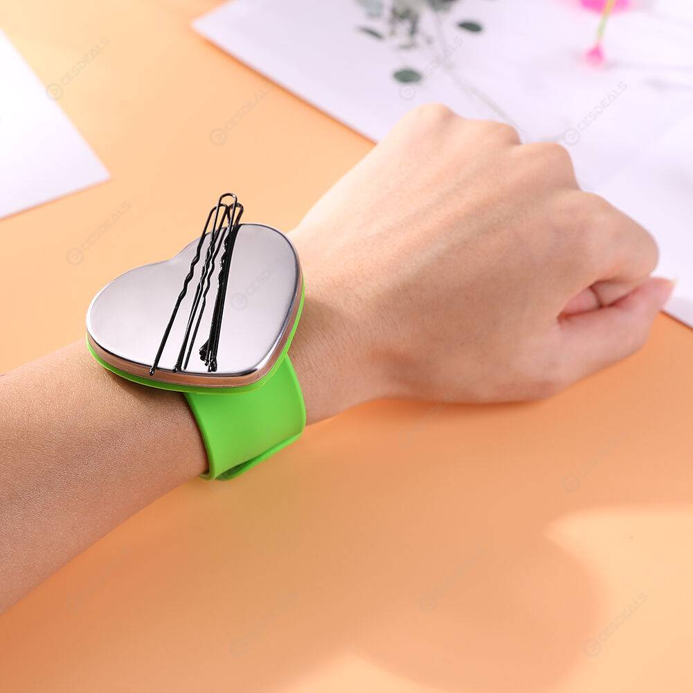 Magnetic Bracelet Wrist Band Belt Hair Clip Clamp Holder Hair Styling Tools