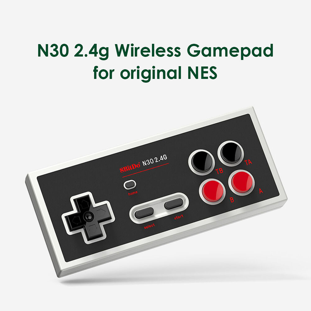 8BitDo N30 2.4G Wireless Joystick Burst Controller for NES Retro Gamepad