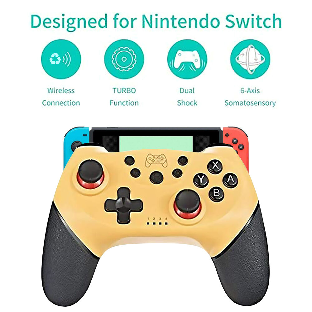 Wireless Bluetooth Gamepad for Nintend Switch Pro NS-Switch Pro Console