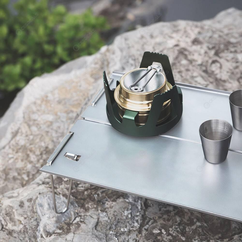 Ultralight Aluminum Alloy Outdoor Camping Picnic Furniture Folding Table