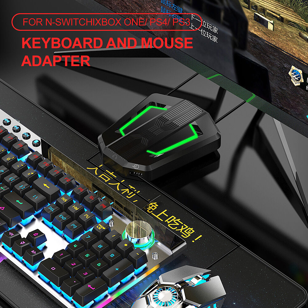 P6 USB Wired Keyboard Mouse Converter for PS4 PS3 Xbox Mobile Game Adapter