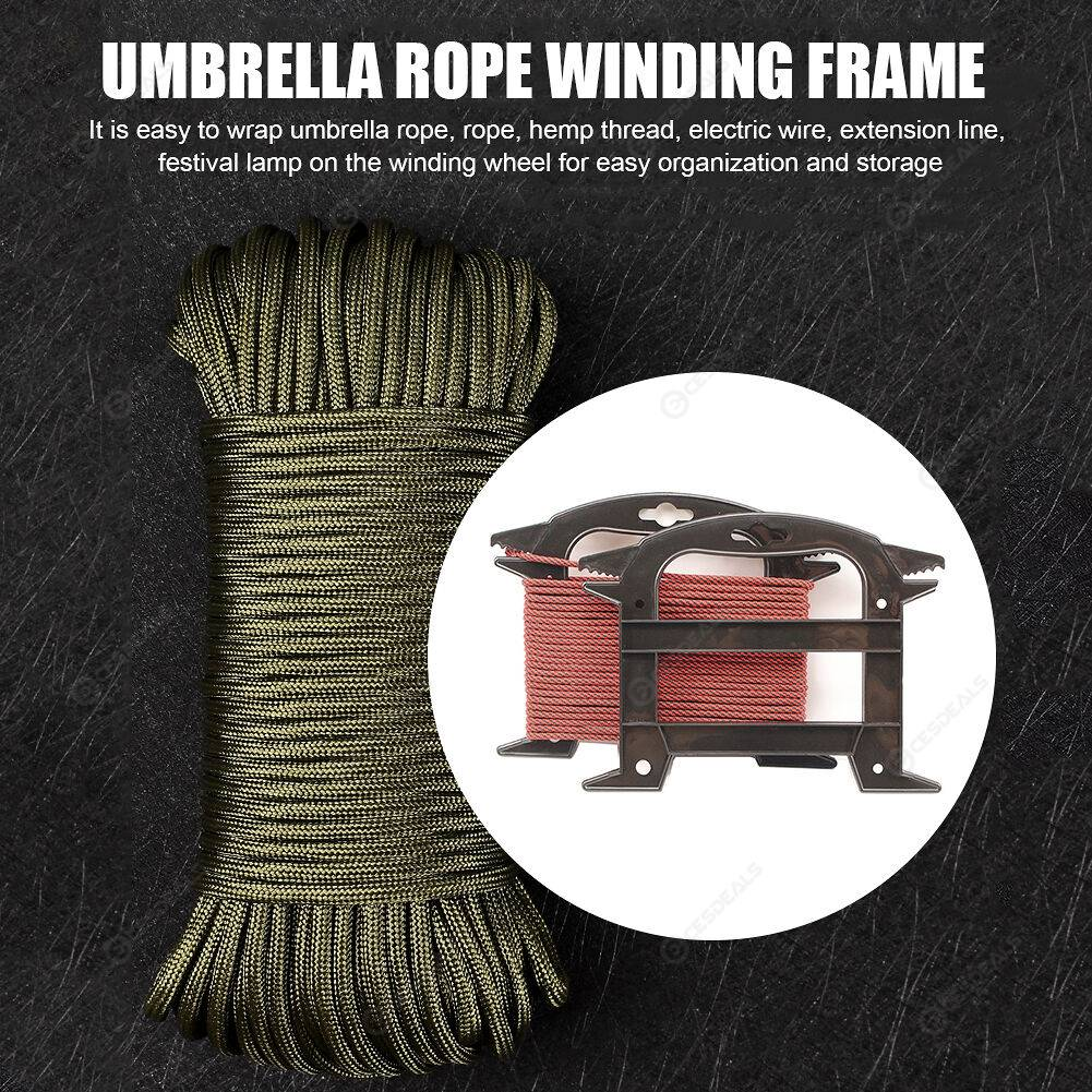 Fishing Line Cable Outdoor Paracord Winder Parachute Lanyard Spool Holder