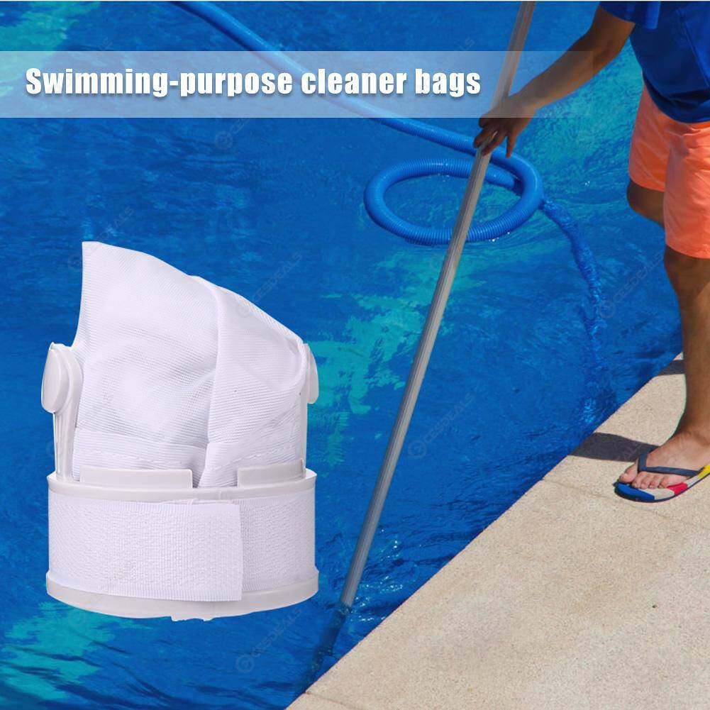 2pcs Swimming Pool Filter Bag Dirt Suction Cleaning Bag Parts for 280 480