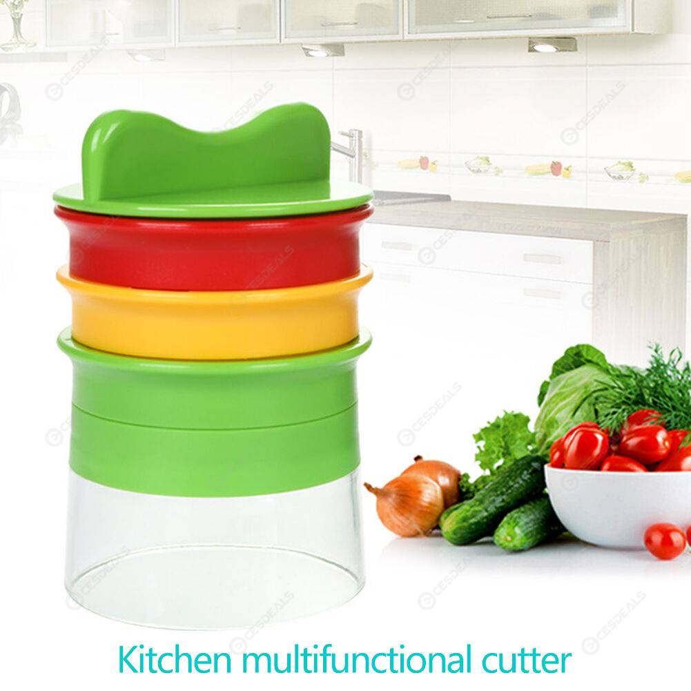 Kitchen Stainless Steel Carrots Grater Vegetables Slicer Cucumbers Cutter
